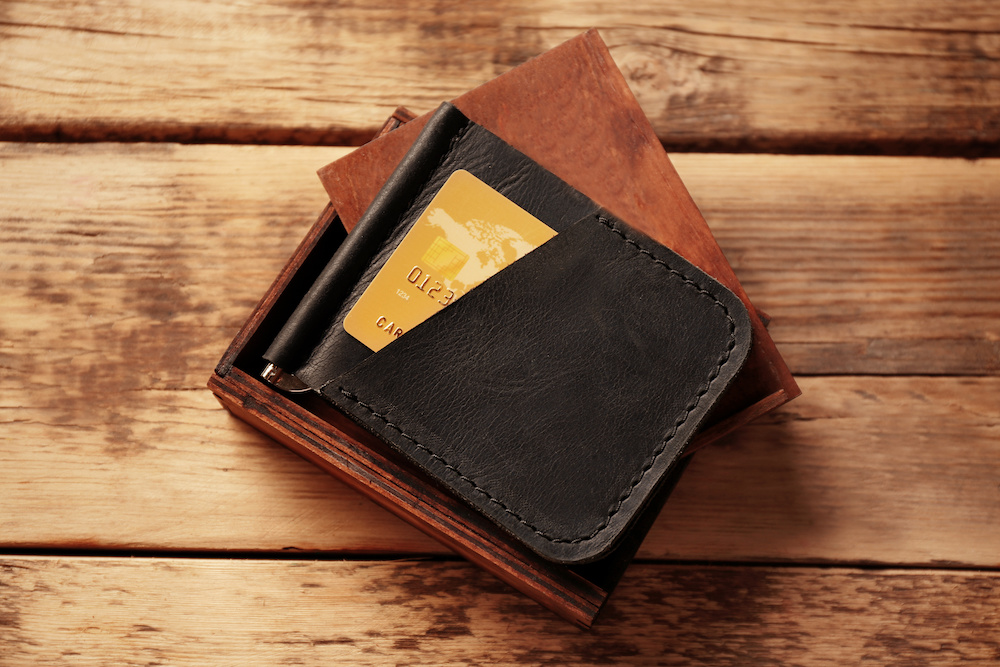 roco minimalist aluminum slim wallet